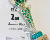 Auszeichnung-Stamping-Nailart NMC 2019 2. Platz Stamping Nailart
