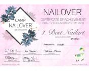 Best-Nailart-Nailover 2019 1. Platz Plastilin – 3D Blumen